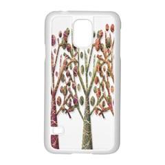 Magical autumn trees Samsung Galaxy S5 Case (White)