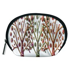 Magical autumn trees Accessory Pouches (Medium)