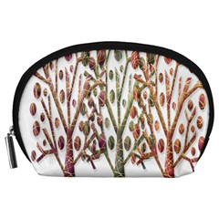 Magical autumn trees Accessory Pouches (Large)