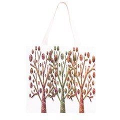Magical autumn trees Grocery Light Tote Bag