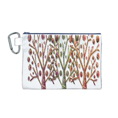 Magical autumn trees Canvas Cosmetic Bag (M)