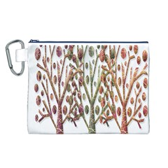 Magical autumn trees Canvas Cosmetic Bag (L)