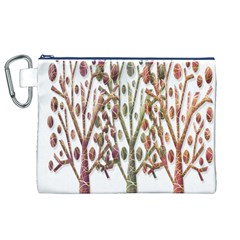 Magical autumn trees Canvas Cosmetic Bag (XL)