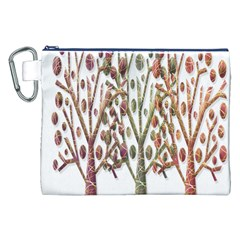 Magical autumn trees Canvas Cosmetic Bag (XXL)