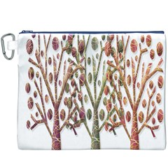 Magical autumn trees Canvas Cosmetic Bag (XXXL)