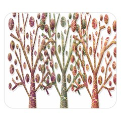 Magical autumn trees Double Sided Flano Blanket (Small)