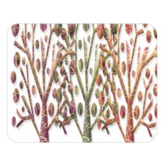 Magical autumn trees Double Sided Flano Blanket (Large)