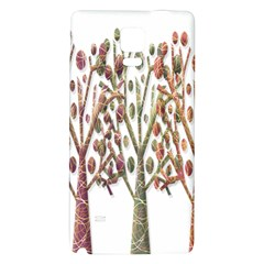Magical autumn trees Galaxy Note 4 Back Case