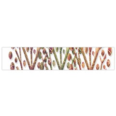 Magical autumn trees Flano Scarf (Small)