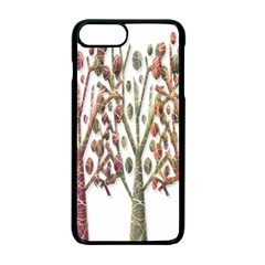 Magical autumn trees Apple iPhone 7 Plus Seamless Case (Black)