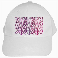 Magical pink trees White Cap