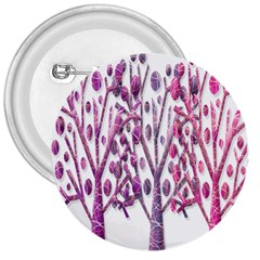 Magical pink trees 3  Buttons