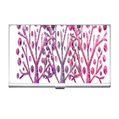 Magical pink trees Business Card Holders