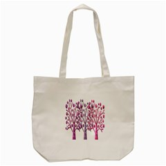 Magical pink trees Tote Bag (Cream)