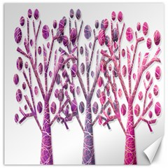 Magical pink trees Canvas 20  x 20