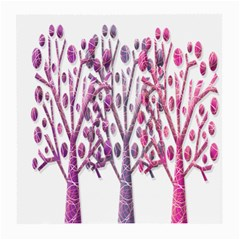 Magical pink trees Medium Glasses Cloth (2-Side)