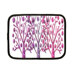 Magical pink trees Netbook Case (Small)