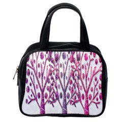 Magical pink trees Classic Handbags (One Side)
