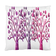 Magical pink trees Standard Cushion Case (Two Sides)