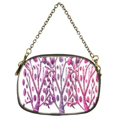 Magical pink trees Chain Purses (Two Sides)