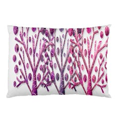 Magical pink trees Pillow Case