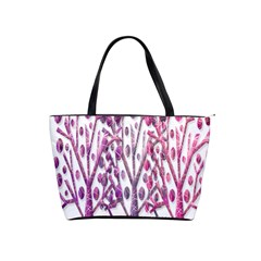 Magical pink trees Shoulder Handbags