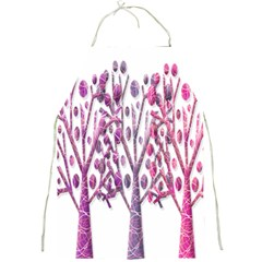 Magical pink trees Full Print Aprons