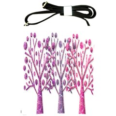 Magical pink trees Shoulder Sling Bags