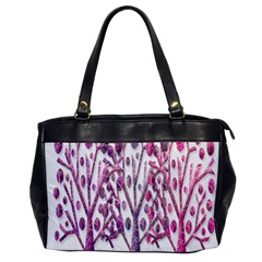 Magical pink trees Office Handbags