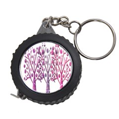 Magical pink trees Measuring Tapes