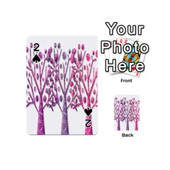 Magical pink trees Playing Cards 54 (Mini)