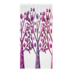 Magical pink trees Shower Curtain 36  x 72  (Stall)