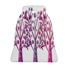 Magical pink trees Bell Ornament (2 Sides)
