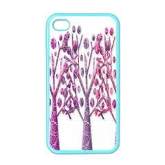 Magical pink trees Apple iPhone 4 Case (Color)