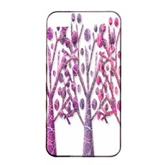 Magical pink trees Apple iPhone 4/4s Seamless Case (Black)
