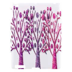 Magical pink trees Apple iPad 3/4 Hardshell Case
