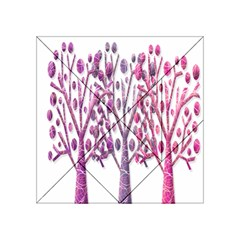 Magical pink trees Acrylic Tangram Puzzle (4  x 4 )