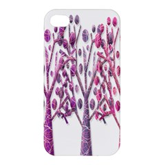 Magical pink trees Apple iPhone 4/4S Premium Hardshell Case