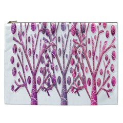 Magical pink trees Cosmetic Bag (XXL)
