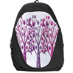 Magical pink trees Backpack Bag