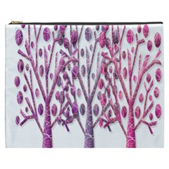 Magical pink trees Cosmetic Bag (XXXL)