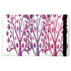 Magical pink trees Apple iPad 3/4 Flip Case