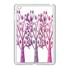 Magical pink trees Apple iPad Mini Case (White)