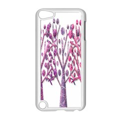 Magical pink trees Apple iPod Touch 5 Case (White)