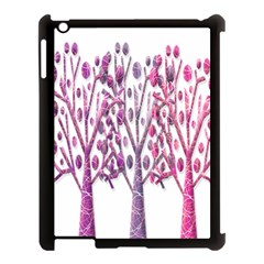 Magical pink trees Apple iPad 3/4 Case (Black)