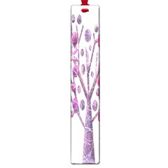 Magical pink trees Large Book Marks