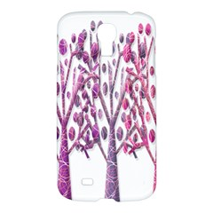 Magical pink trees Samsung Galaxy S4 I9500/I9505 Hardshell Case