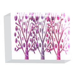 Magical pink trees 5 x 7  Acrylic Photo Blocks