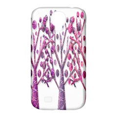 Magical pink trees Samsung Galaxy S4 Classic Hardshell Case (PC+Silicone)