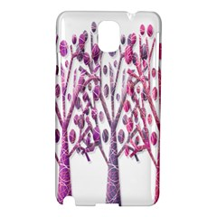 Magical pink trees Samsung Galaxy Note 3 N9005 Hardshell Case